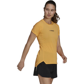 adidas TERREX Parley Agravic TR Allaround T-Shirt Women, hazy orange
